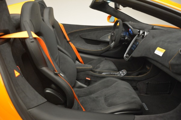 New 2020 McLaren 600LT Spider Convertible for sale Sold at Alfa Romeo of Greenwich in Greenwich CT 06830 28