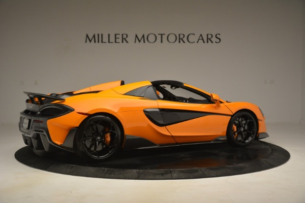 New 2020 McLaren 600LT Spider Convertible for sale Sold at Alfa Romeo of Greenwich in Greenwich CT 06830 8