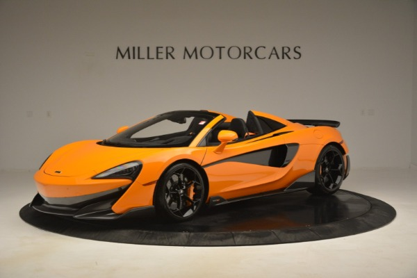 New 2020 McLaren 600LT Spider Convertible for sale Sold at Alfa Romeo of Greenwich in Greenwich CT 06830 1