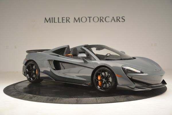 New 2020 McLaren 600LT Spider Convertible for sale Sold at Alfa Romeo of Greenwich in Greenwich CT 06830 10