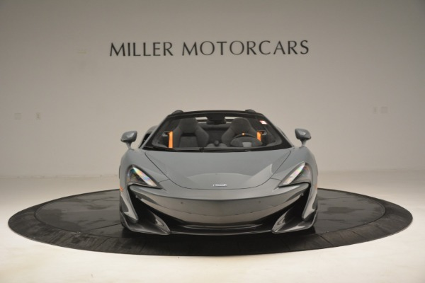 New 2020 McLaren 600LT Spider Convertible for sale Sold at Alfa Romeo of Greenwich in Greenwich CT 06830 12