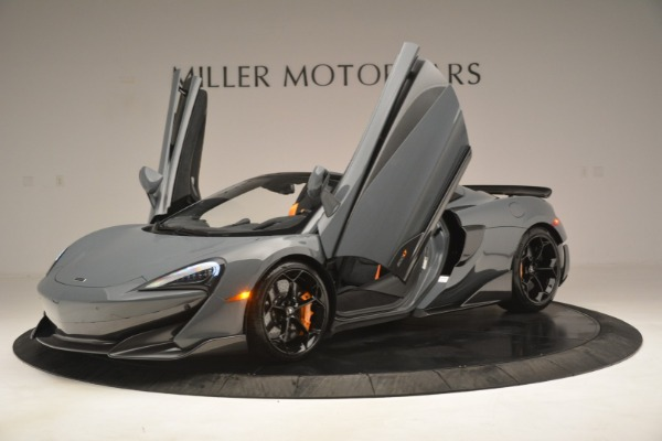New 2020 McLaren 600LT Spider Convertible for sale Sold at Alfa Romeo of Greenwich in Greenwich CT 06830 14