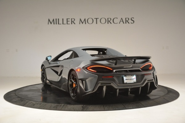 New 2020 McLaren 600LT Spider Convertible for sale Sold at Alfa Romeo of Greenwich in Greenwich CT 06830 17