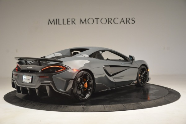 New 2020 McLaren 600LT Spider Convertible for sale Sold at Alfa Romeo of Greenwich in Greenwich CT 06830 19