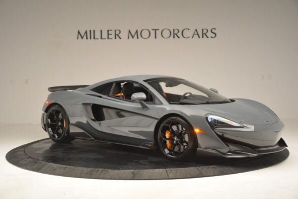New 2020 McLaren 600LT Spider Convertible for sale Sold at Alfa Romeo of Greenwich in Greenwich CT 06830 21