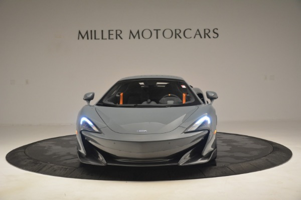 New 2020 McLaren 600LT Spider Convertible for sale Sold at Alfa Romeo of Greenwich in Greenwich CT 06830 22