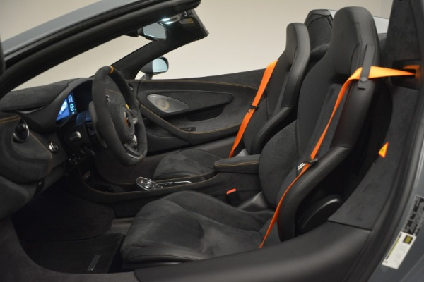 New 2020 McLaren 600LT Spider Convertible for sale Sold at Alfa Romeo of Greenwich in Greenwich CT 06830 25