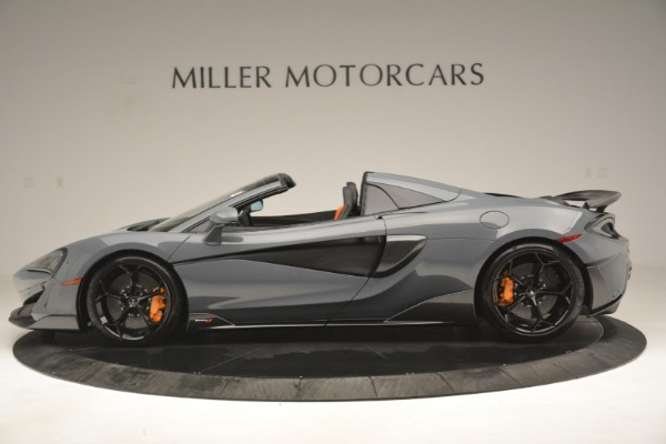 New 2020 McLaren 600LT Spider Convertible for sale Sold at Alfa Romeo of Greenwich in Greenwich CT 06830 3