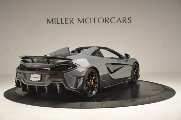 New 2020 McLaren 600LT Spider Convertible for sale Sold at Alfa Romeo of Greenwich in Greenwich CT 06830 7