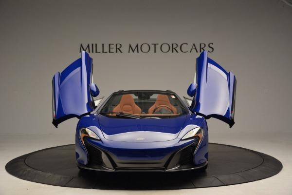 Used 2015 McLaren 650S Spider Convertible for sale Sold at Alfa Romeo of Greenwich in Greenwich CT 06830 13