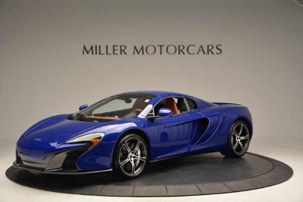 Used 2015 McLaren 650S Spider Convertible for sale Sold at Alfa Romeo of Greenwich in Greenwich CT 06830 14