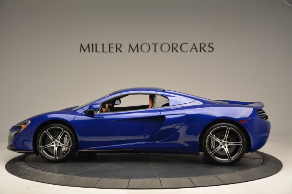 Used 2015 McLaren 650S Spider Convertible for sale Sold at Alfa Romeo of Greenwich in Greenwich CT 06830 15