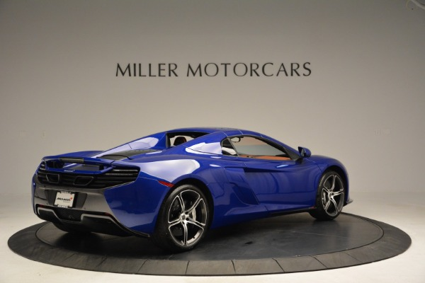 Used 2015 McLaren 650S Spider Convertible for sale Sold at Alfa Romeo of Greenwich in Greenwich CT 06830 18
