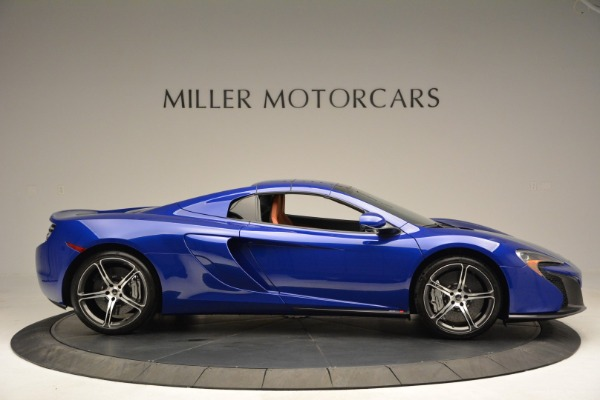Used 2015 McLaren 650S Spider Convertible for sale Sold at Alfa Romeo of Greenwich in Greenwich CT 06830 19