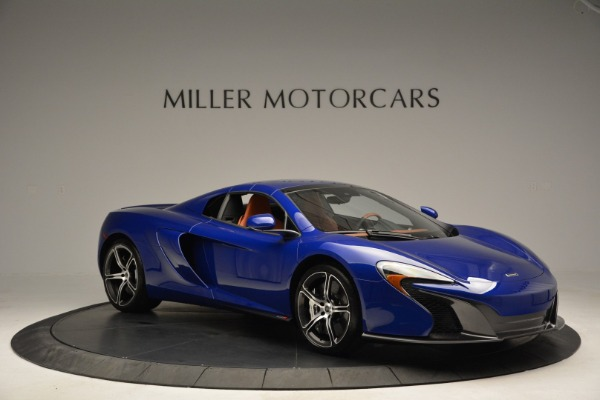 Used 2015 McLaren 650S Spider Convertible for sale Sold at Alfa Romeo of Greenwich in Greenwich CT 06830 20