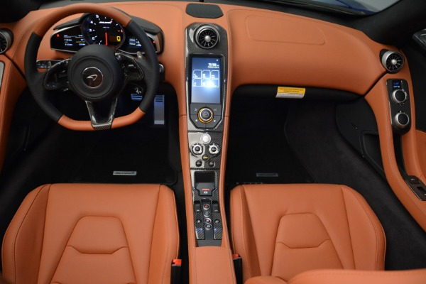 Used 2015 McLaren 650S Spider Convertible for sale Sold at Alfa Romeo of Greenwich in Greenwich CT 06830 21