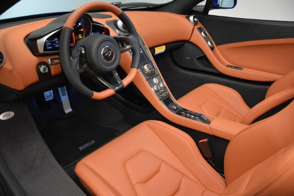 Used 2015 McLaren 650S Spider Convertible for sale Sold at Alfa Romeo of Greenwich in Greenwich CT 06830 22