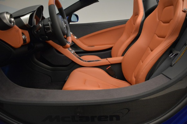Used 2015 McLaren 650S Spider Convertible for sale Sold at Alfa Romeo of Greenwich in Greenwich CT 06830 23