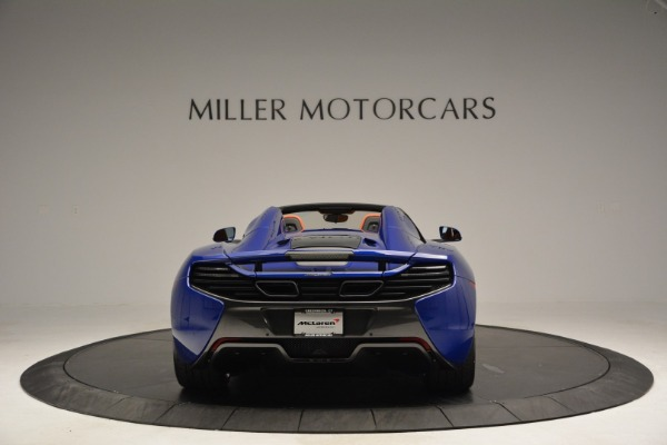 Used 2015 McLaren 650S Spider Convertible for sale Sold at Alfa Romeo of Greenwich in Greenwich CT 06830 6