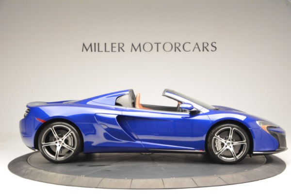 Used 2015 McLaren 650S Spider Convertible for sale Sold at Alfa Romeo of Greenwich in Greenwich CT 06830 9