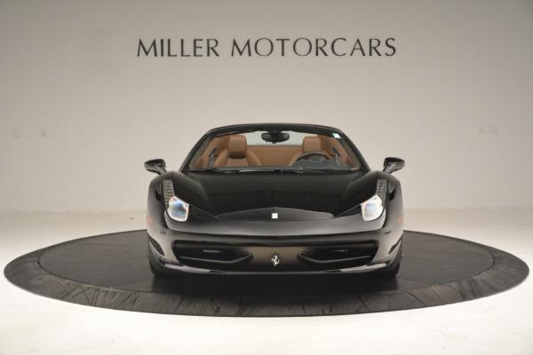 Used 2013 Ferrari 458 Spider for sale Sold at Alfa Romeo of Greenwich in Greenwich CT 06830 12
