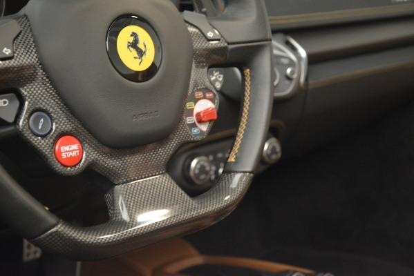 Used 2013 Ferrari 458 Spider for sale Sold at Alfa Romeo of Greenwich in Greenwich CT 06830 27