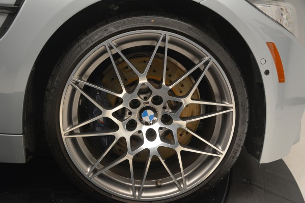 Used 2017 BMW M4 Competition PKG for sale Sold at Alfa Romeo of Greenwich in Greenwich CT 06830 27