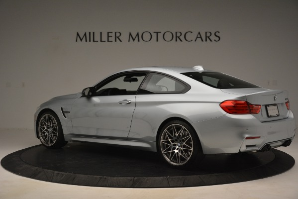 Used 2017 BMW M4 Competition PKG for sale Sold at Alfa Romeo of Greenwich in Greenwich CT 06830 4