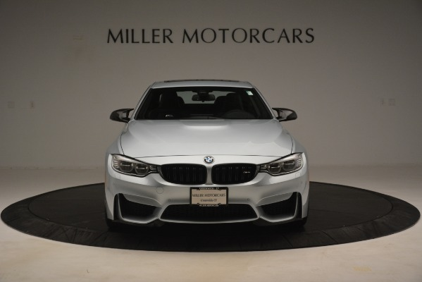 Used 2017 BMW M4 Competition PKG for sale Sold at Alfa Romeo of Greenwich in Greenwich CT 06830 7