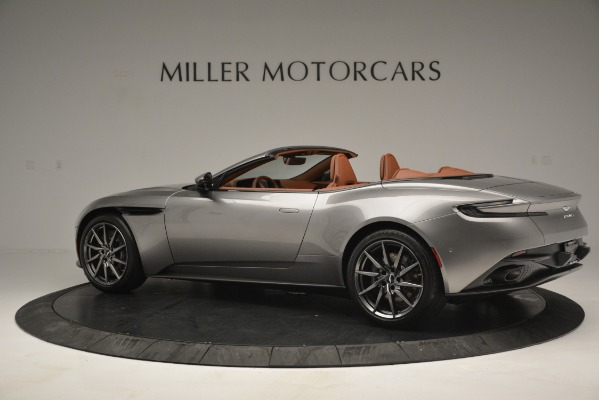 New 2019 Aston Martin DB11 V8 Convertible for sale Sold at Alfa Romeo of Greenwich in Greenwich CT 06830 4