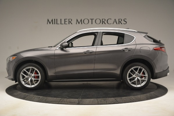 New 2019 Alfa Romeo Stelvio Ti Lusso Q4 for sale Sold at Alfa Romeo of Greenwich in Greenwich CT 06830 3
