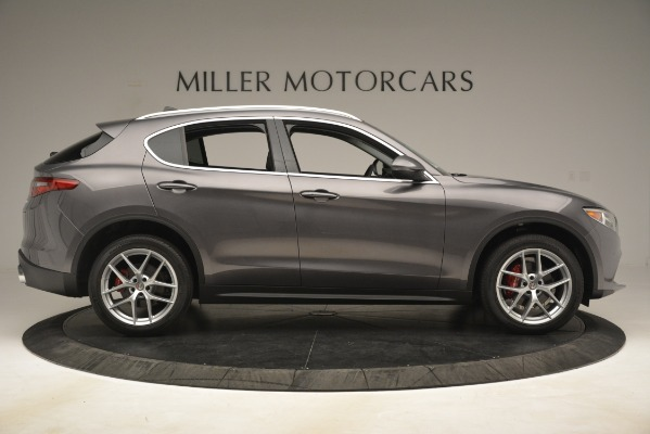 New 2019 Alfa Romeo Stelvio Ti Lusso Q4 for sale Sold at Alfa Romeo of Greenwich in Greenwich CT 06830 9