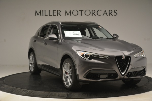 New 2019 Alfa Romeo Stelvio Ti Lusso Q4 for sale $54,390 at Alfa Romeo of Greenwich in Greenwich CT 06830 11