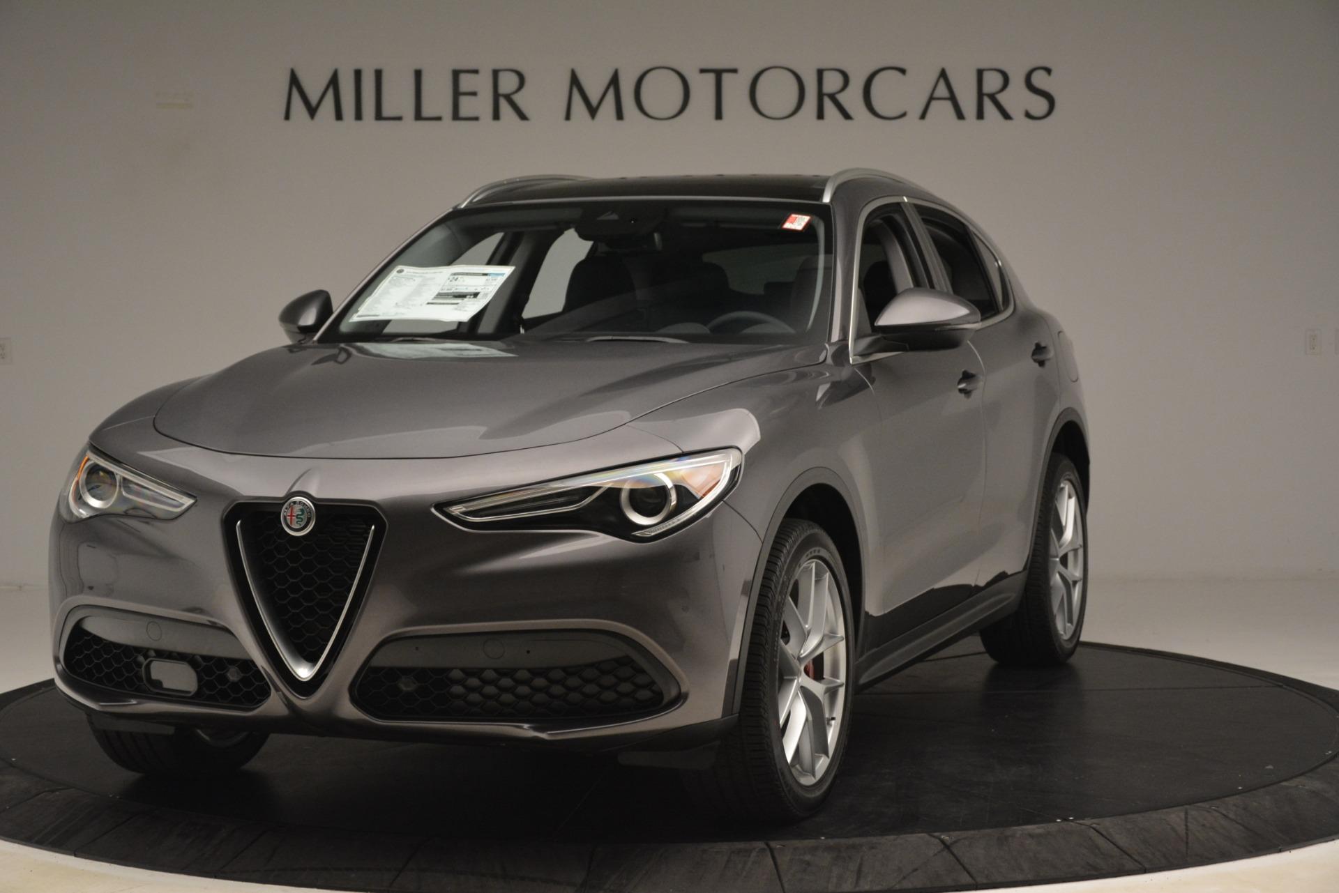 New 2019 Alfa Romeo Stelvio Ti Lusso Q4 for sale $54,390 at Alfa Romeo of Greenwich in Greenwich CT 06830 1