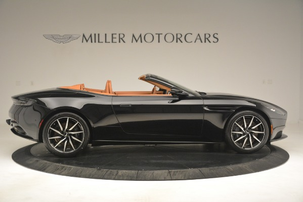 New 2019 Aston Martin DB11 V8 Convertible for sale Sold at Alfa Romeo of Greenwich in Greenwich CT 06830 9