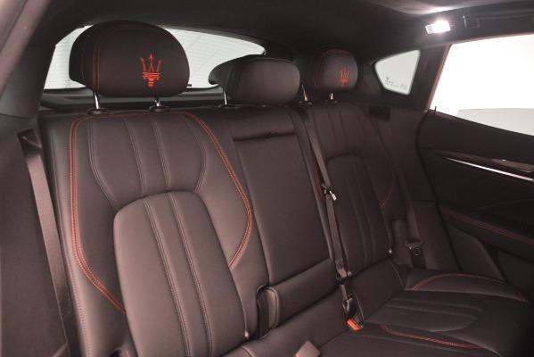 New 2019 Maserati Levante S Q4 GranSport for sale Sold at Alfa Romeo of Greenwich in Greenwich CT 06830 26