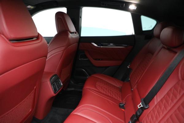 New 2019 Maserati Levante S Q4 GranSport for sale Sold at Alfa Romeo of Greenwich in Greenwich CT 06830 19