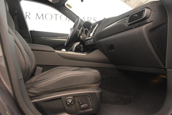 New 2019 Maserati Levante S Q4 GranSport for sale $104,840 at Alfa Romeo of Greenwich in Greenwich CT 06830 23