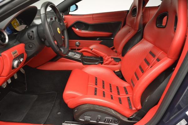 Used 2008 Ferrari 599 GTB Fiorano for sale Sold at Alfa Romeo of Greenwich in Greenwich CT 06830 14