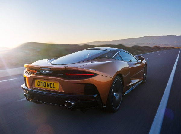 New 2020 McLaren GT Coupe for sale Sold at Alfa Romeo of Greenwich in Greenwich CT 06830 2