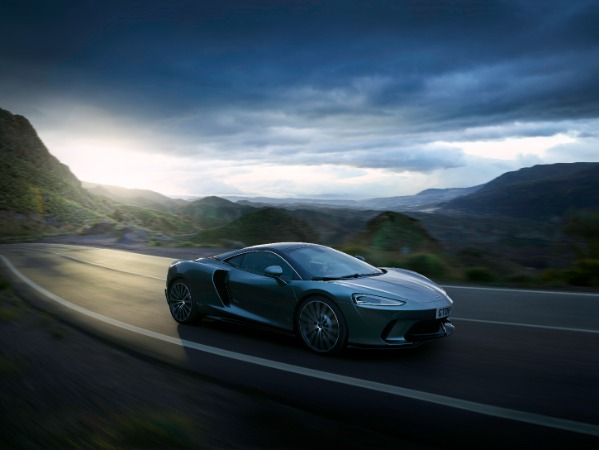 New 2020 McLaren GT Coupe for sale Sold at Alfa Romeo of Greenwich in Greenwich CT 06830 8