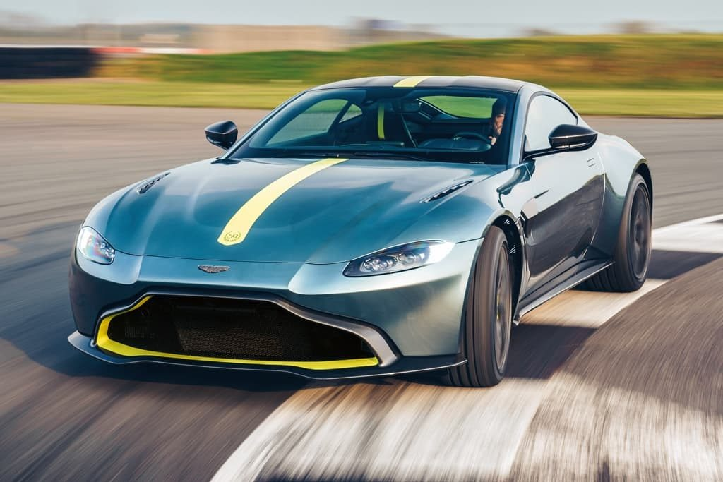 New 2020 Aston Martin Vantage AMR Coupe for sale Call for price at Alfa Romeo of Greenwich in Greenwich CT 06830 1