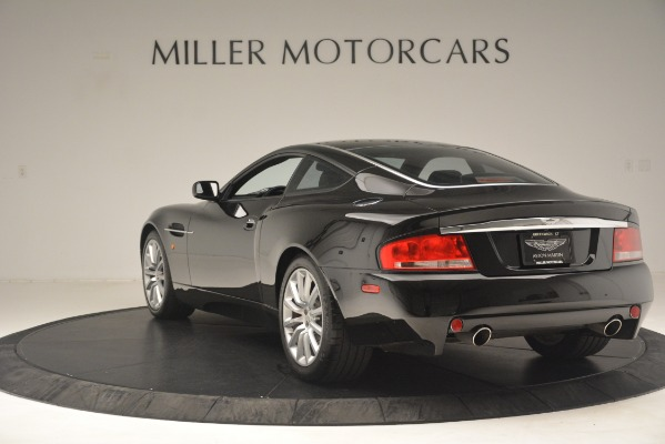 Used 2004 Aston Martin V12 Vanquish for sale Sold at Alfa Romeo of Greenwich in Greenwich CT 06830 3