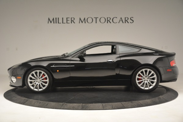 Used 2004 Aston Martin V12 Vanquish for sale Sold at Alfa Romeo of Greenwich in Greenwich CT 06830 4