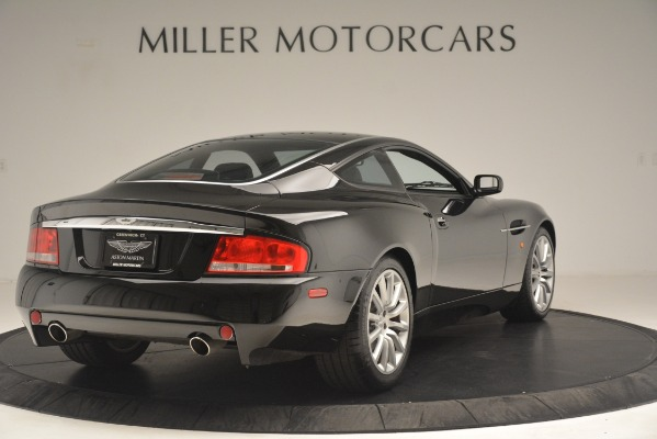 Used 2004 Aston Martin V12 Vanquish for sale Sold at Alfa Romeo of Greenwich in Greenwich CT 06830 6