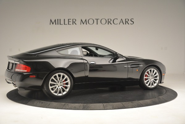 Used 2004 Aston Martin V12 Vanquish for sale Sold at Alfa Romeo of Greenwich in Greenwich CT 06830 8
