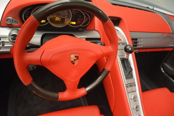 Used 2005 Porsche Carrera GT for sale Sold at Alfa Romeo of Greenwich in Greenwich CT 06830 27