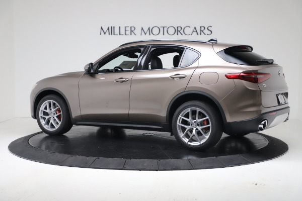 New 2019 Alfa Romeo Stelvio Ti Sport Q4 for sale Sold at Alfa Romeo of Greenwich in Greenwich CT 06830 4