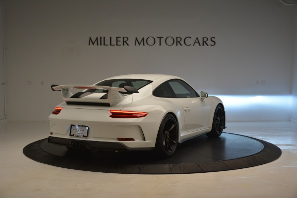 Used 2018 Porsche 911 GT3 for sale Sold at Alfa Romeo of Greenwich in Greenwich CT 06830 6