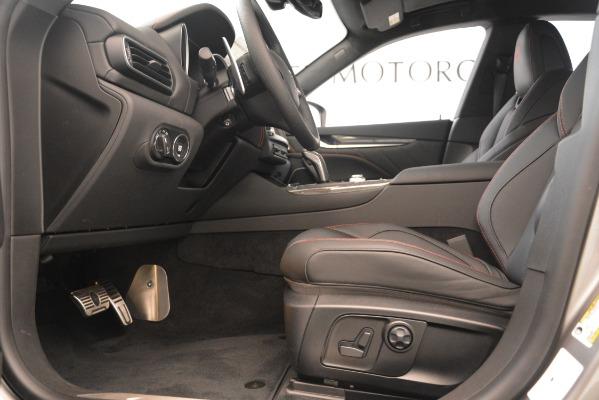 New 2019 Maserati Levante SQ4 GranSport Nerissimo for sale Sold at Alfa Romeo of Greenwich in Greenwich CT 06830 14